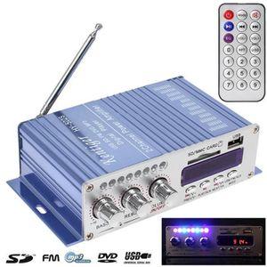 AMPLI PUISSANCE Mini HiFi Amplificateur stéréo de puissance de voi
