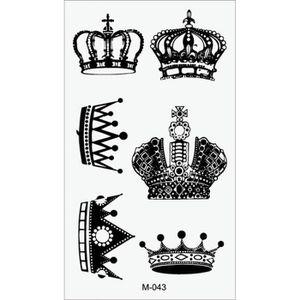 tatouage temporaire ph m re r aliste couronne logo. Black Bedroom Furniture Sets. Home Design Ideas