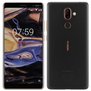 SMARTPHONE 6.0 Pouce Noir Nokia 7 Plus occasion débloqué remi