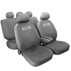 HOUSSE DE SIÈGE Lupex Shop C3_ Gc Housses de siège Auto, Gris Cla