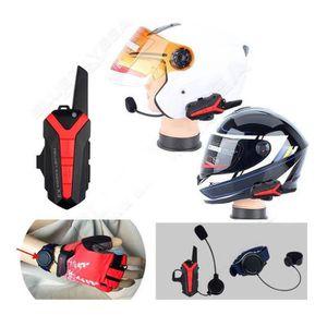 INTERCOM MOTO paire de Bluetooth Intercom casque pour moto Inter