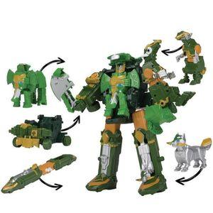 FIGURINE - PERSONNAGE POWER RANGERS - Megazord Elephant Ninja Steel
