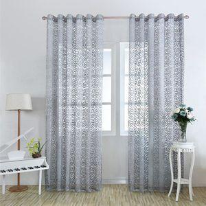 rideaux fleuris achat vente rideaux fleuris pas cher cdiscount. Black Bedroom Furniture Sets. Home Design Ideas