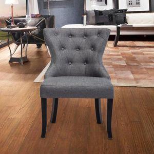 fauteuil salle a manger achat vente pas cher. Black Bedroom Furniture Sets. Home Design Ideas