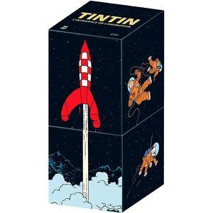 DVD SÉRIE Tintin : L'intégrale des aventures