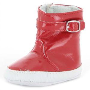 BOTTE Botte de pluie bébé fille rouge