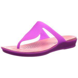 a8521026416a8 TONG Crocs femmes flip flip flip flops et pantoufles de