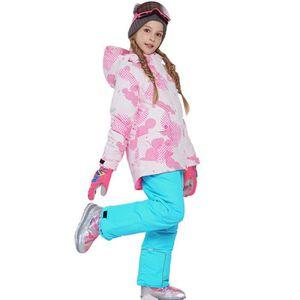 COMBINAISON DE SKI Combinaison de ski Costume Enfant de Marque luxe É