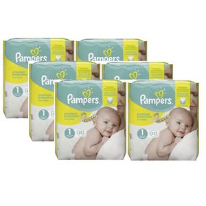 COUCHE Pampers New Baby Taille 1 Newborn 2-5kg 132 Couche