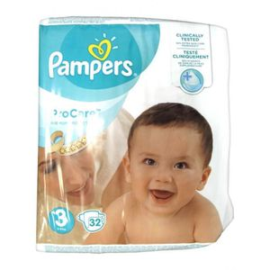 COUCHE Pampers ProCare Premium Protection Taille 3 (5-9 k