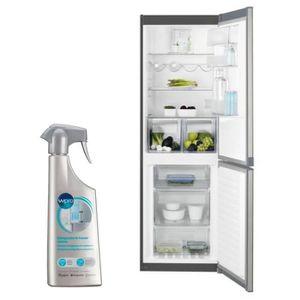RÉFRIGÉRATEUR CLASSIQUE ELECTROLUX Réfrigérateur Frigo Combiné inox 311L A