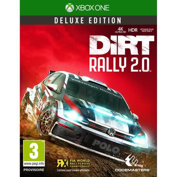 JEU XBOX ONE NOUVEAUTÉ Dirt Rally 2.0 Deluxe Édition Jeu Xbox One