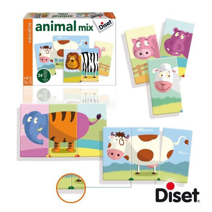 DISET Animals Mix