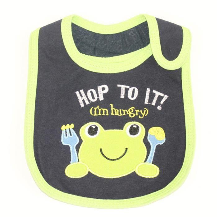 4ffb82e173903 Bébé nouveau-né enfants bambins coton imperméable bavoirs serviette salive