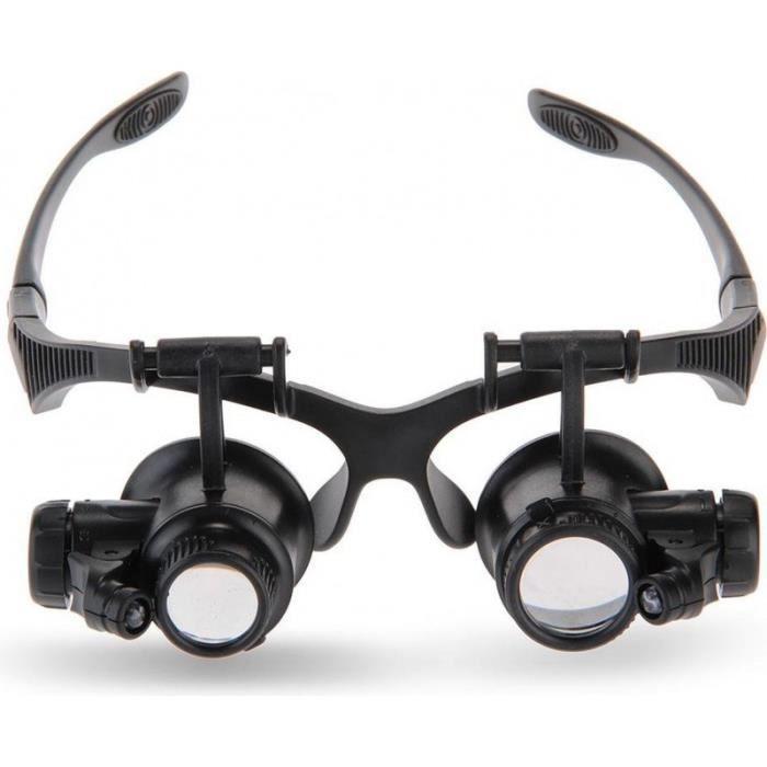 lunettes loupe bijoutier achat vente pas cher. Black Bedroom Furniture Sets. Home Design Ideas