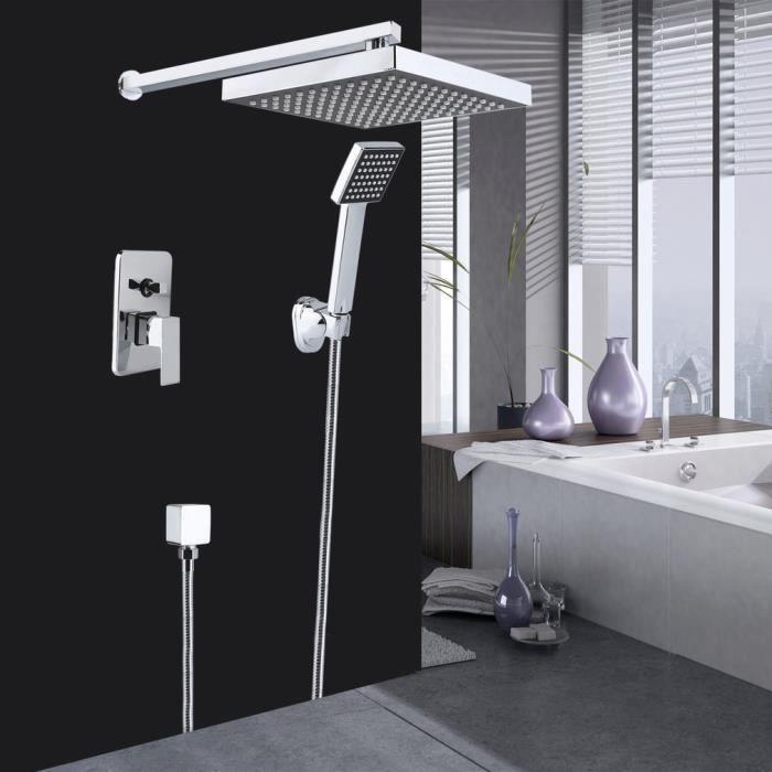 Pomme de douche top douche moderne carré - Achat / Vente douchette ...