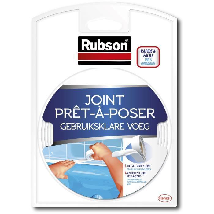 rubson joint prêt à poser - longueur 3,5 m - achat / vente joint d ... - Joint Pret A Poser Salle De Bain