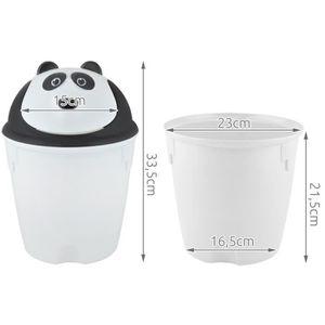 poubelle de salle de bain en noir achat vente poubelle de salle de bain en noir pas cher. Black Bedroom Furniture Sets. Home Design Ideas