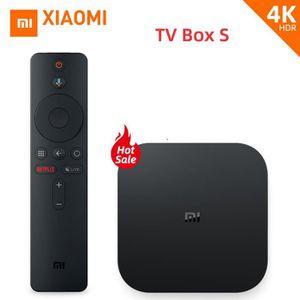 BOX MULTIMEDIA XIAOMI/MI TV BOX S - Android 8.1 TV 4K HDR Europe