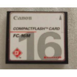 CARTE MÉMOIRE Canon FC-16M COMPACTFLASH CARD 16MB