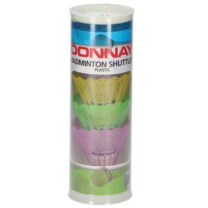 VOLANT DE BADMINTON DONNAY Volants de badminton - 5pcs - Coloris selon