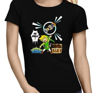 T-SHIRT T-Shirt Jeux Vidéo - Parodie Zel…