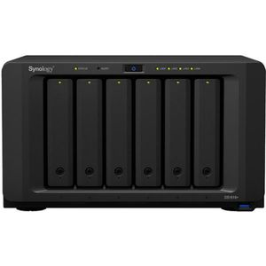 SERVEUR STOCKAGE - NAS  Synology DiskStation DS1618+, 72 To, SATA, 2.5,3.5