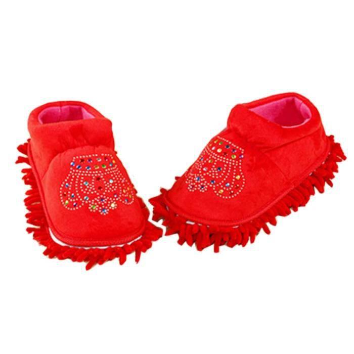 Belle coton chaussons amovible et lavable Tout talon Inclusive