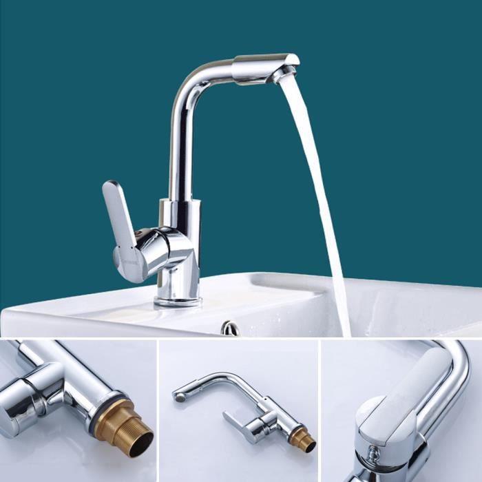 porte accessoire robinet design de lavabo mitigeur evier douchette - Robinet Evier Rabattable