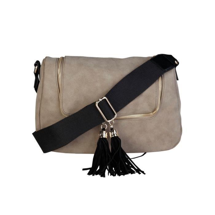 Byblos - Sac porté épaule pour femme (ALISON_675093_055_TORTORA) - Gris