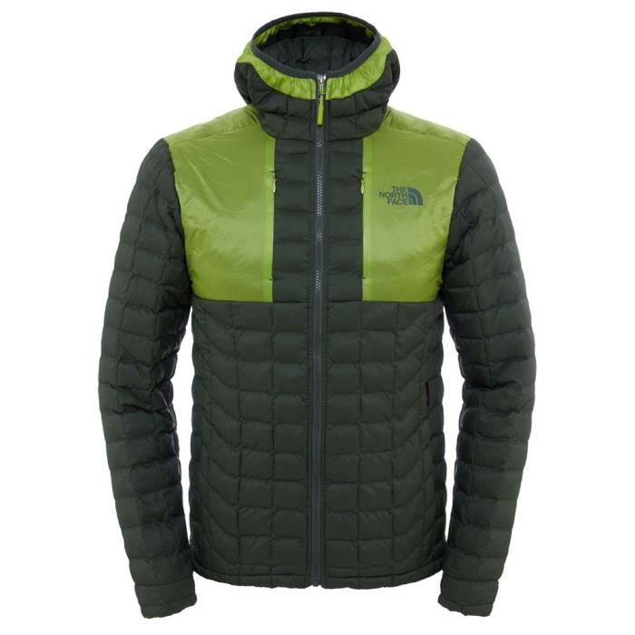 631844f79f Vêtements homme Vestes isolées The North Face Thermoball Plus Hoodie ...