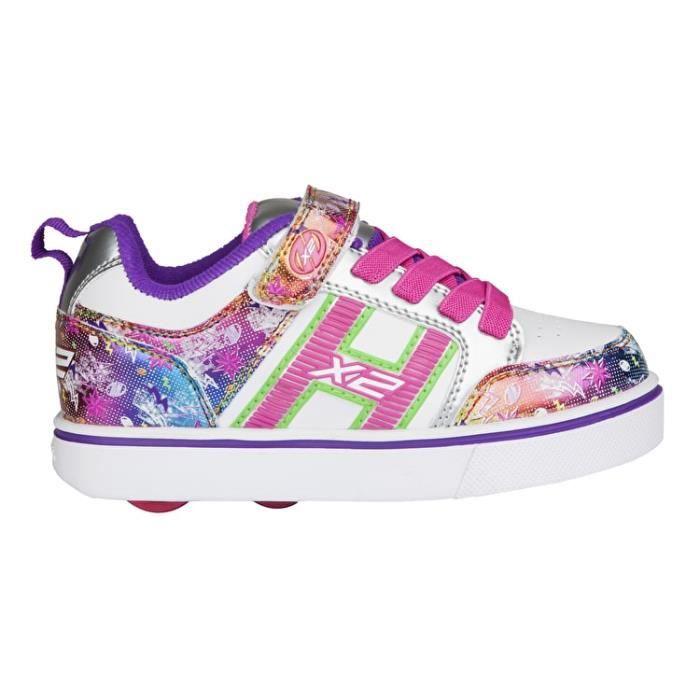 Heelys - Chaussures à roulettes X2 Bolt Plus (770943) - blanc/multicolore