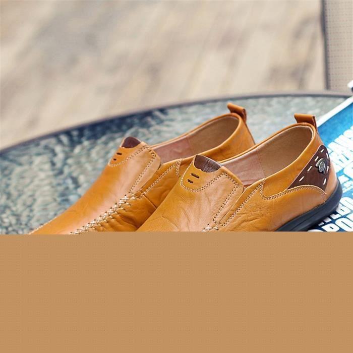 Derbies Femme Antidérapant Classique Cuir Chaussure Loisirs Cool Chaussure Mode Confortable Durable Meilleure Qualité
