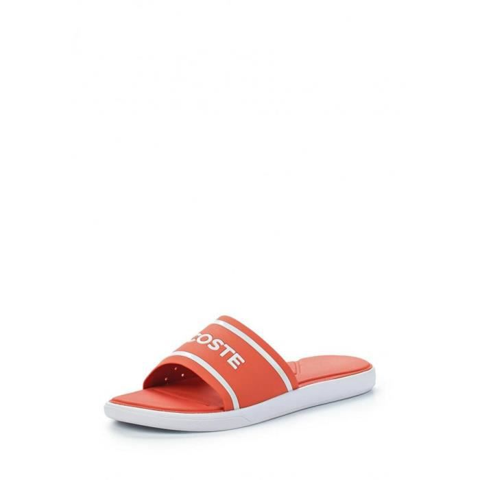 38280e69bbf3 Sandale Lacoste L.30 Slide 118 1 CAW - Ref. 735CAW0020F50 Rouge ...