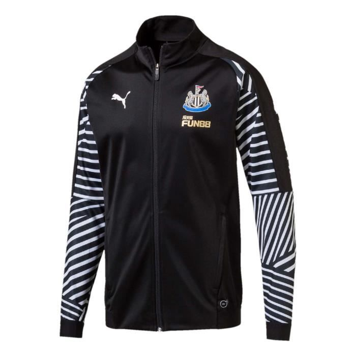 7fffd9994ad Puma Newcastle United Stadium Veste De Survêtement 2018 2019 Homme ...