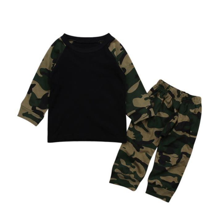 Pantalon Pas Cher Vente Enfant Achat Camouflage wCqRwf7xF