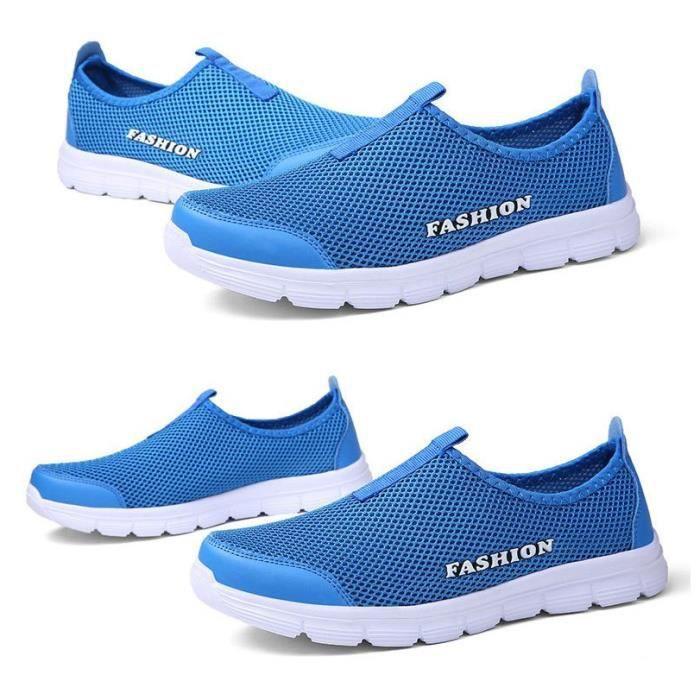 Baskets Chaussures de sport Homme Femme Bleu