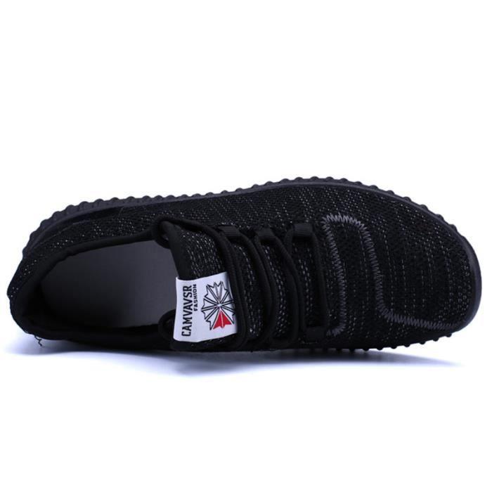 Basket Homme Ultra Léger Chaussures De Sport Casual BDG-XZ125Noir39 5xK71Lz6IX