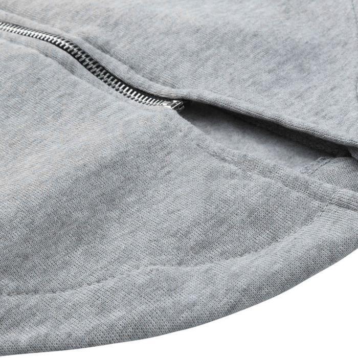 Manches Manteau Solide Hiver Veste Hommes Casual Zipper Outwear 4556 Longues À Utomne Chemisier E8qxSw