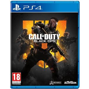 JEU NINTENDO SWITCH Call of Duty Black OPS 4 PS4 + 1 Coque silicon off