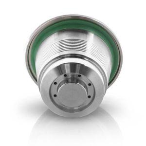 PIÈCE MEUBLE Filtre à café en acier inoxydable capsules filtran
