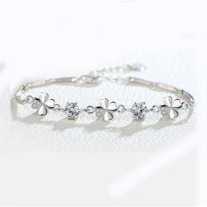 BRACELET , GOURMETTE Bracelet Les bijoux 925 d\u0027argent quatre Tiffany