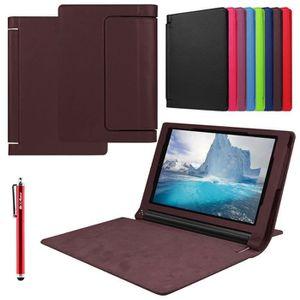 COQUE - HOUSSE - ÉTUI Housse Etui Lenovo Yoga Tab 3 8.0 , Pochette Porte af0388e9267