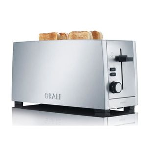 GRILLE-PAIN - TOASTER GRAEF TO100 Grille-pain - Inox