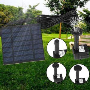 POMPE ARROSAGE Petit pompe solaire de fontaine, kit de panneau de