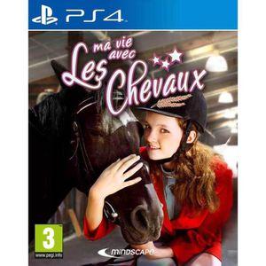 JEU PS4 Ma vie avec les Chevaux Jeu PS4