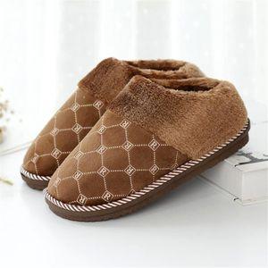 Haut de gamme pour hommes avec un plaid et velours traîne le luxe de luxe confortable lumière chaleureuse maison chaussures qualité 4i9kC7k