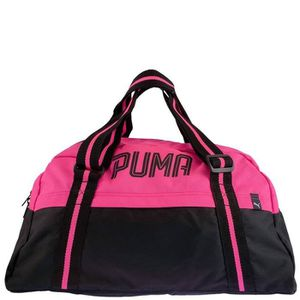 96e4b749d7 Sac de sport FUNDAMENTALS Rose Femme Puma U Noir - Prix pas cher ...