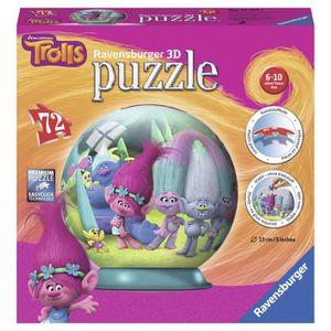 PUZZLE TROLLS Puzzle 3D 72 pcs