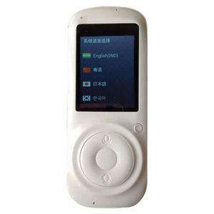 TRADUCTEUR ÉLECTRONIQUE 2.4Inch Ecran Tactile Wifi Smart Traducteur Vocal